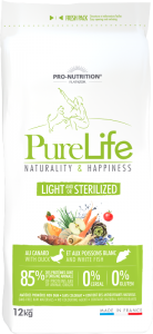 Light and/or Sterilized PureLife Pro-Nutrition Flatazor
