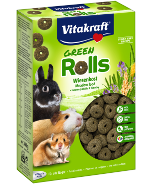 Храна за гризачи - 300г Vitakraft Green Rolls