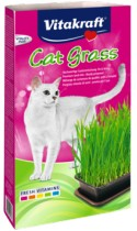 Котешка трева в съд готова за употреба - Vitakraft Cat Grass